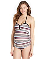 Jessica Simpson Ruched Maternity One Piece Swimsuit