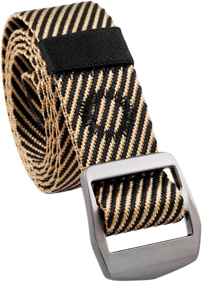 squaregarden Mens Nylon Tactical Duty Belt Webbing Military Style Belts for Men