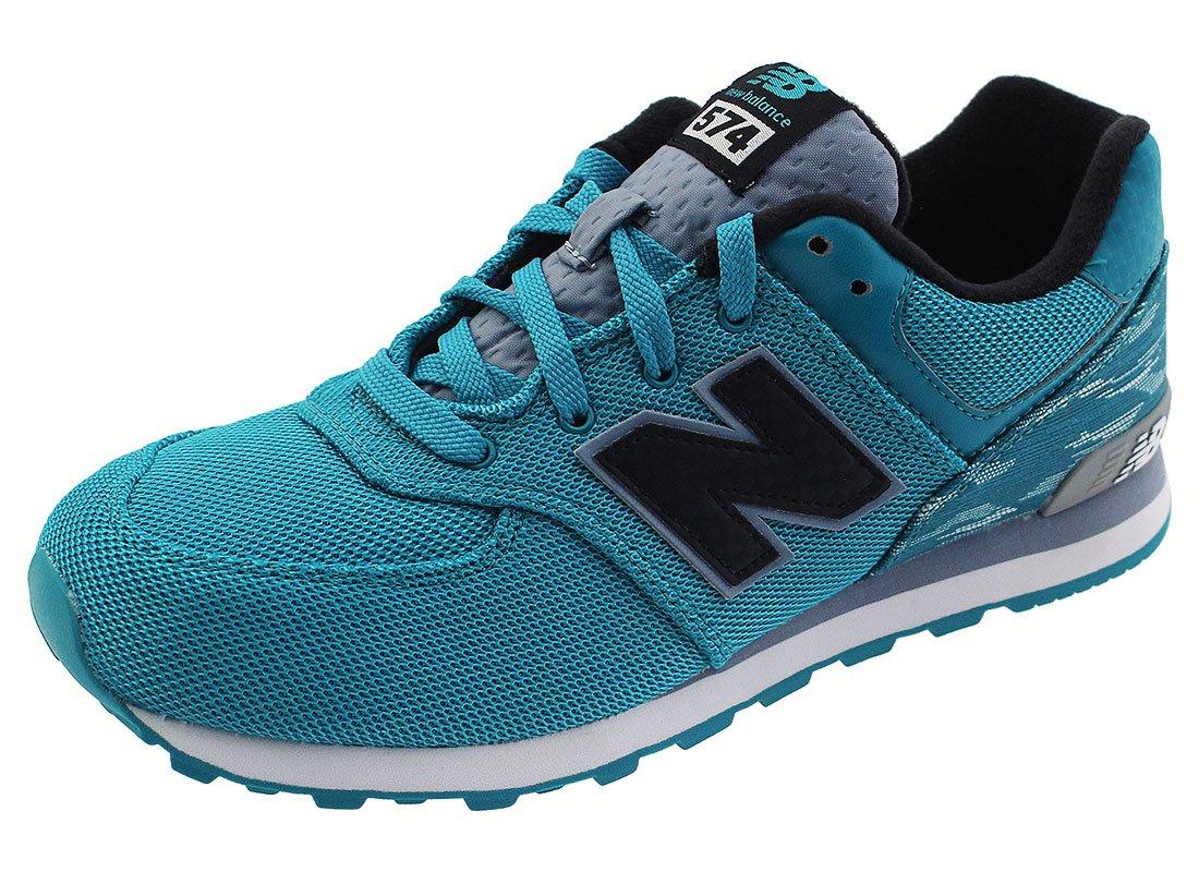 New Balance Kids Unisex Summer Waves 574 (Big Kid) Blue/Blue Athletic Shoe