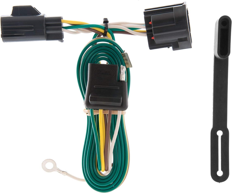 [DVZP_7254]   Amazon.com: CURT 55124 Vehicle-Side Custom 4-Pin Trailer Wiring Harness for  Select Jeep Wrangler: Automotive | 1966 Jeep Wiring Harness |  | Amazon.com