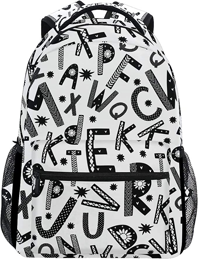 Personalized Bag  Casual Shoulder Backpack  Floral Print  Calla Lily Flower