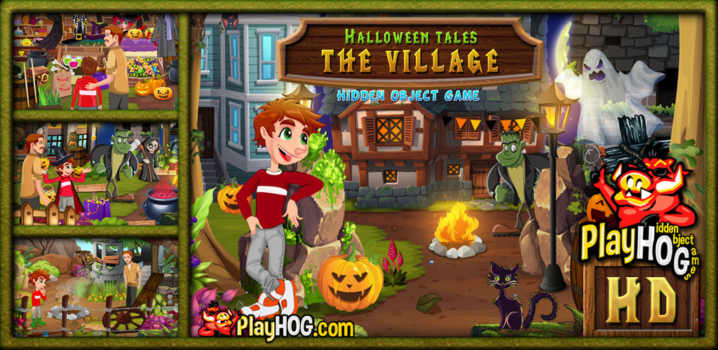 Halloween Tales - The Village - Find Hidden Object Game [Download]