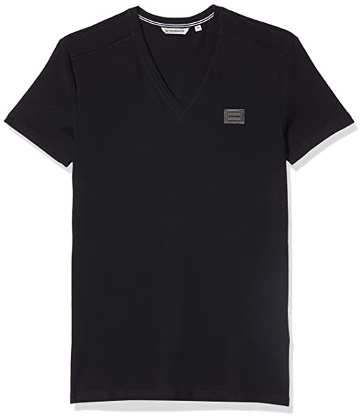 Antony Morato T-Shirt Sport Slim Scollo V con Placchetta Camiseta ...