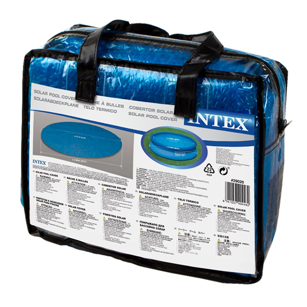 Intex - Cobertor solar para piscinas 244 cm de diámetro (29020): Amazon.es: Jardín