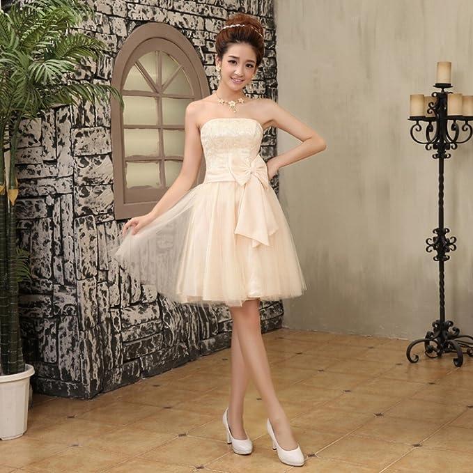 DRESS Vestidos de Dama de Honor Vestidos de Novia Vestidos de Novia Peque?os Vestidos de Novia Vestido de Novia Vestidos de Novia,Do,XXL: Amazon.es: Hogar