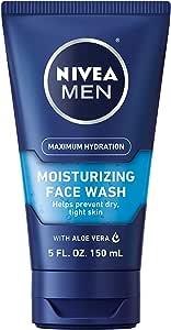 Nivea Moisturizing Face Wash by Nivea for Men - 5 oz Face Wash, 147.85 milliliters