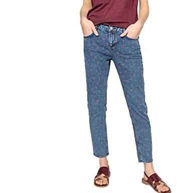 0d2b112a58 La Redoute Collections Womens Vintage Star Print Skinny Jeans ...