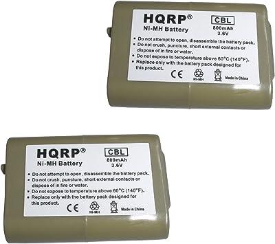 HQRP Dos Baterías para AT&T / Lucent EP5632 / EP5632-2 / EP5632-2A / EP590-2 / EP590-3 Teléfono inalámbrico + HQRP Posavasos: Amazon.es: Electrónica