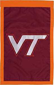 NCAA Virginia Tech Hokies Double Sided 29 x 44-Inch Applique Flag