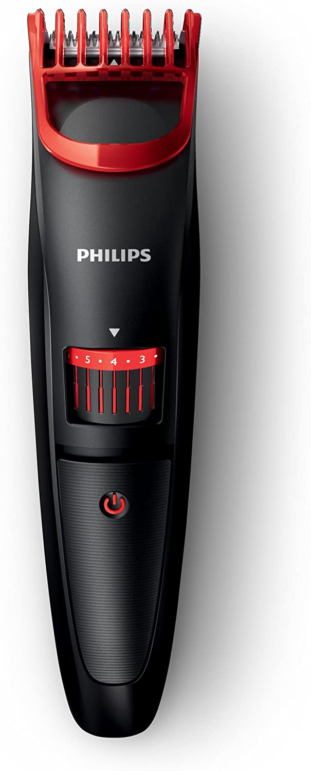 Philips BT405/16 - Barbero electrico con bateria, battery-powered, negro