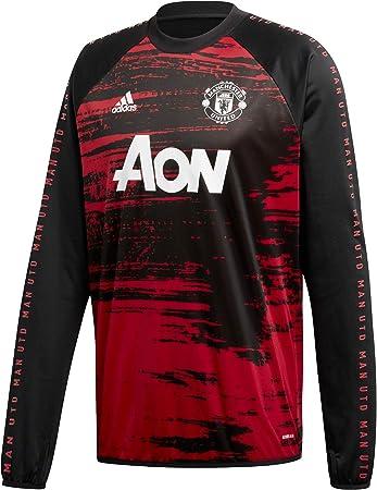 firma Gran universo sucesor  adidas MUFC Pre Match Warmtop Sudadera, Hombre, Reared/Negro, 3XL:  Amazon.es: Deportes y aire libre