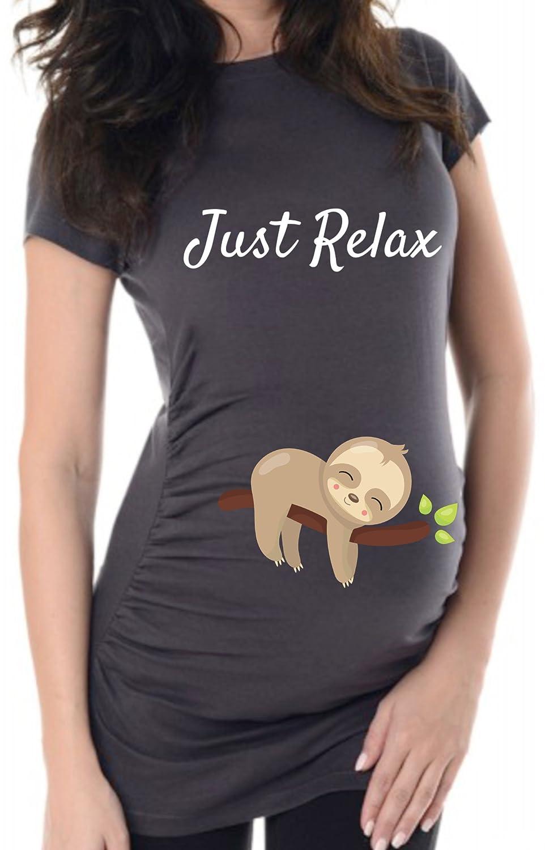 Bequem und Hipp individualisierbar bellytime Witzige Schwangerschaftsshirts Umsstandsshirt ALS Geschenk F/ür Schwangere