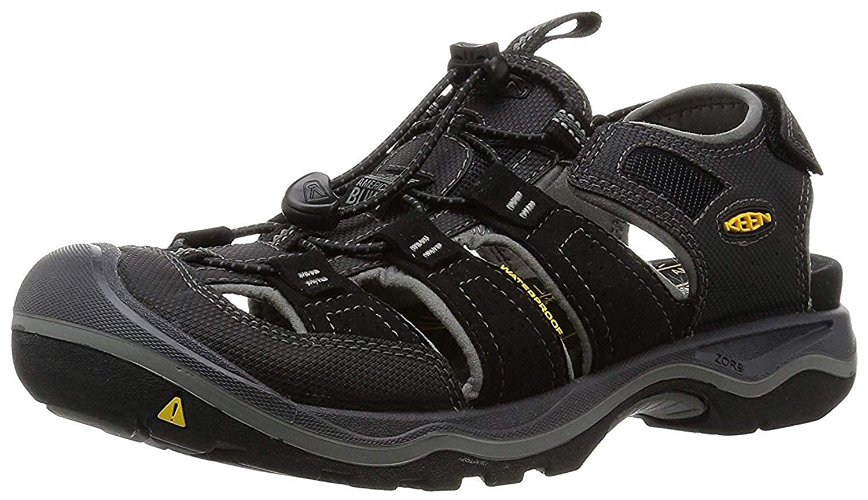 Keen Targhee EXP WP Shoes Men black//steel grey 2019 Schuhe schwarz