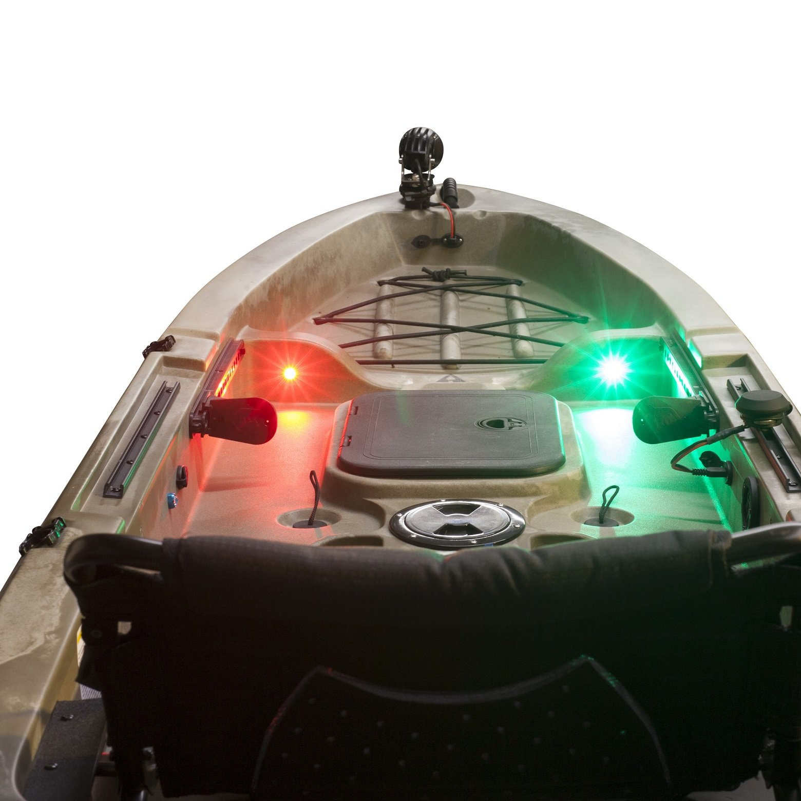 Yak-Power Super Bright LED Button Light Kit Red (2pcs) by Yak-Power (Image #4)