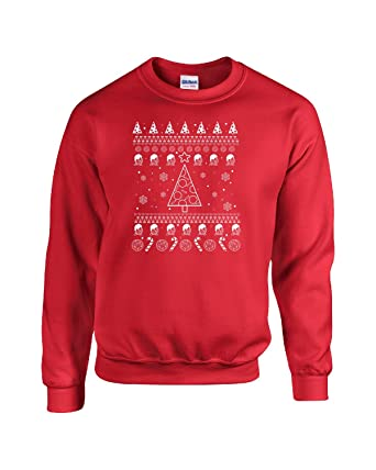Ugly Christmas Sweater Gift Ideas Beer And Pizza Ttd1 - Adult ...