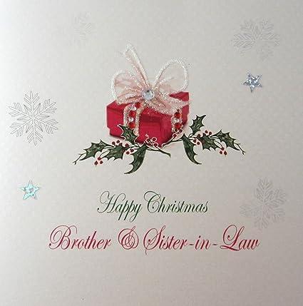 Buon Natale 118.Carte Di Cotone Bianco X 118 Auguri Di Natale Con Scritta In Inglese