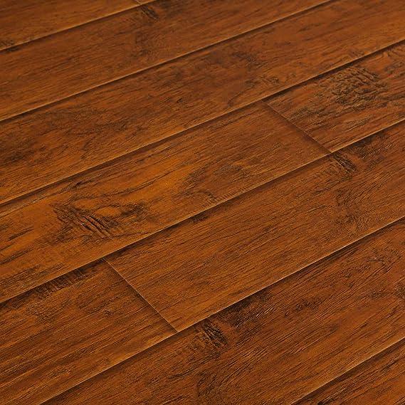 Lamton Laminate Sample 12mm Wide Board Collection-Peruvian Gingerwood