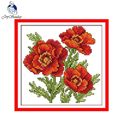 Amazon com: Zamtac Floral Style The Flower of Happiness