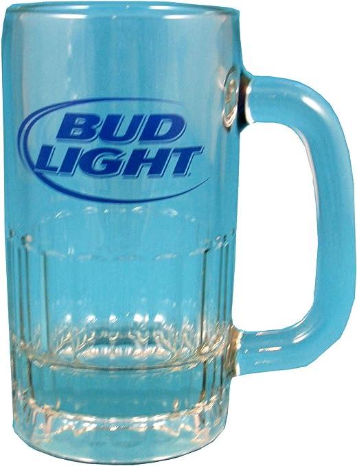 Single Bud Light Electric blue Official B//New pint glass 2017 Design X 1..