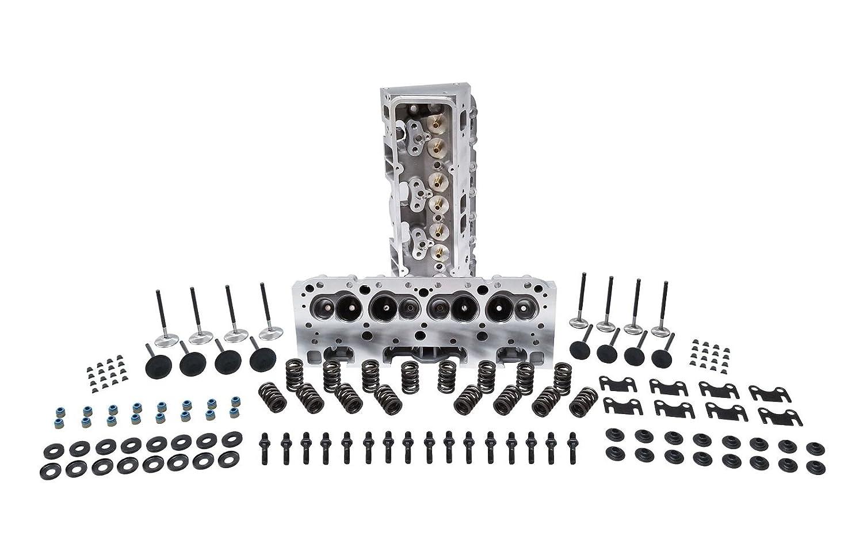 Amazon com: SBC Aluminum Cylinder Head Assembly 64 cc
