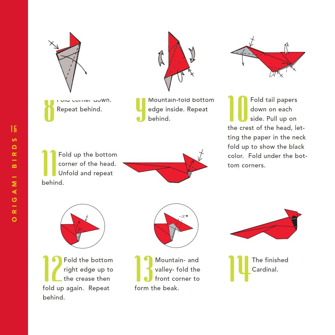 Easy Origami Crane Instructions | 1315x1316