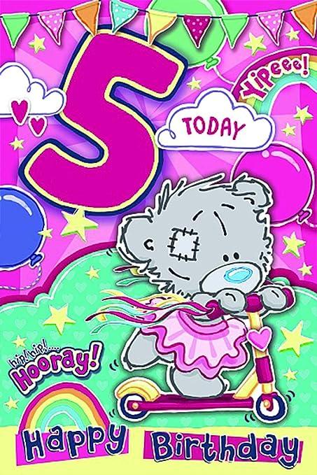 Me To You - Tarjeta de felicitación de 5º cumpleaños para ...