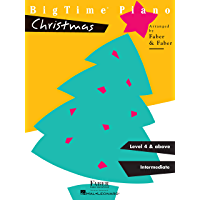 BigTime Piano Christmas Level 4 book cover