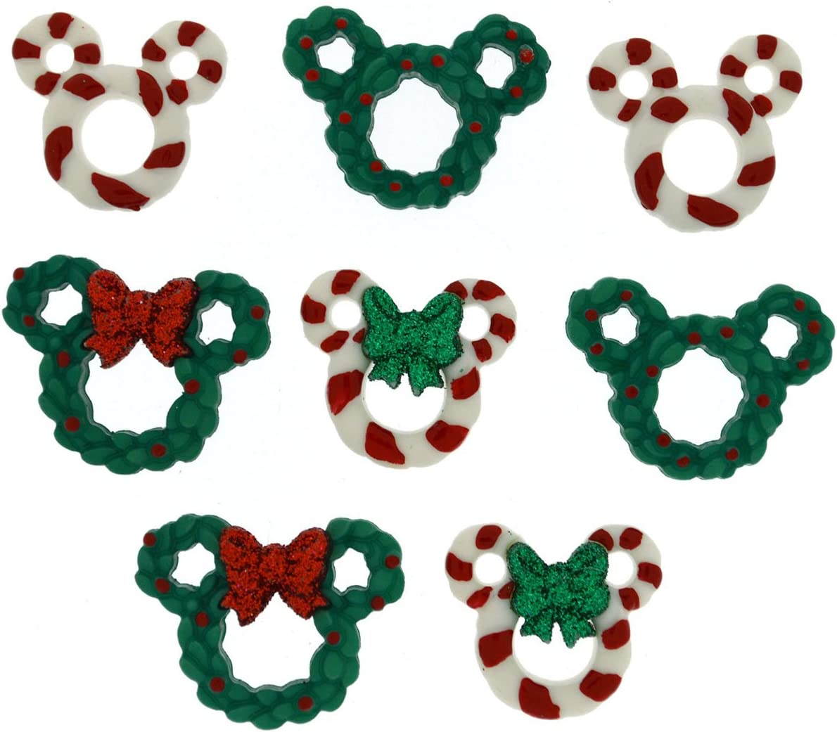 Dress It Up 8233 Disney Button /& Embellishments Mickey Ornaments