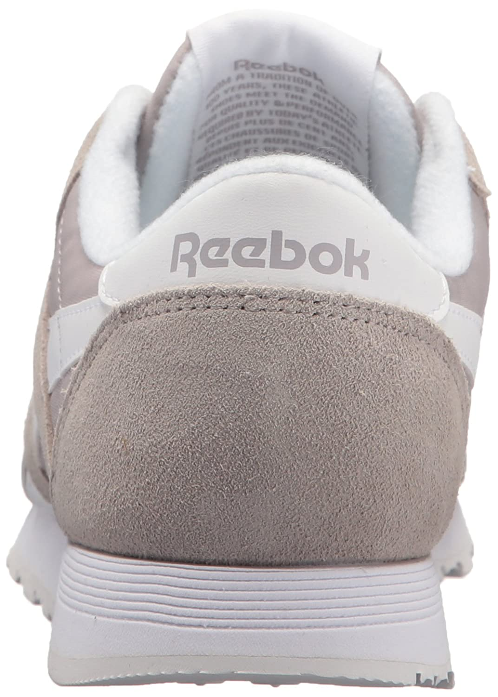 Reebok Classic Sneaker B01GRMGWCY 12.5 D(M) US|Whisper Grey/White