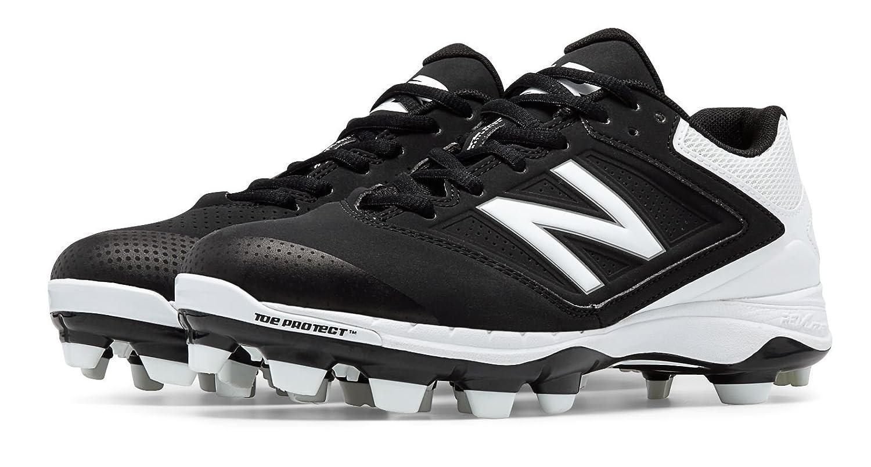 (ニューバランス) New Balance 靴シューズ レディースソフトボール Low Cut 4040v1 Plastic Cleat Black with White ブラック ホワイト US 5 (22cm) B0161ASQLM