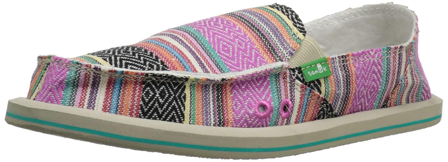 Sanuk Donna Pink Chaussures 29418011, Chaussures basses femme Pink Donna Poncho 7a26c09 - boatplans.space