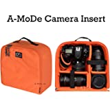 A-mode DSLR Camera Insert Capacity Light Weight Water Repellent Camera Protection Insert Padded Dslr Case for Backpack Luggage canon nikon IN03