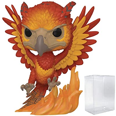 Funko Pop Harry Potter - Fawkes Vinyl Figure (Includes Compatible Pop Box Protector Case): Toys & Games
