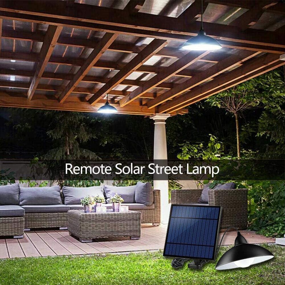 Luz solar exterior 12LED Luz de calle solar, iluminación ...