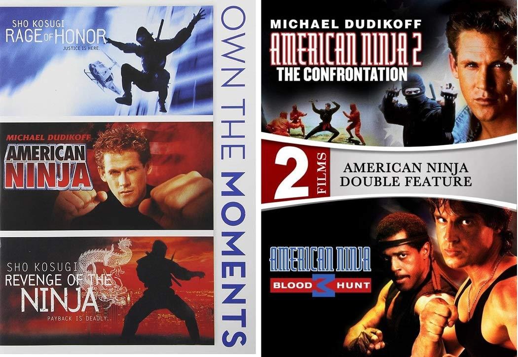 American Ninja / Rage of Honor / Revenge of the Ninja /American Ninja 2: The Confrontation / American Ninja 3: Blood Hunt DVD Collection