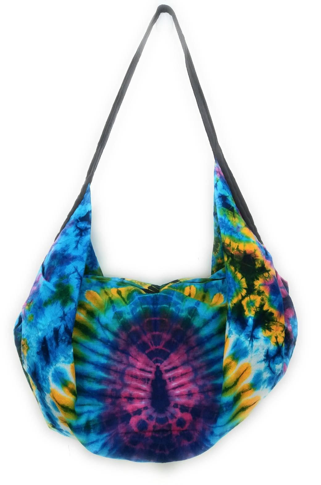Kraft4Life NEW!! Tie Dye Hippie Hobo Boho Sling Crossbody Shoulder Messenger Bag Bohemian Christmas Gift (AAA)