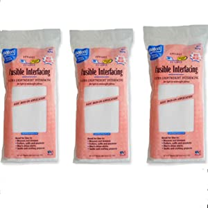 White Fusible Interfacing 3-Pack