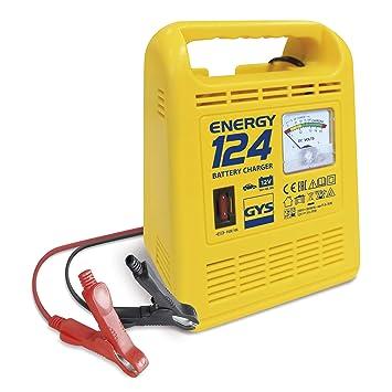 GYS Energy 124 - Cargador de baterías (12 V, 10-45 Ah ...