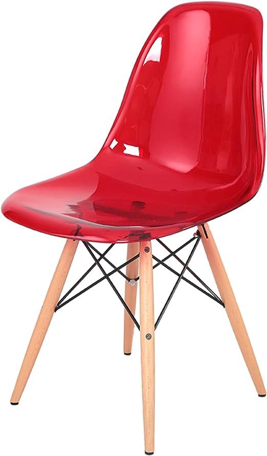 DONGYUER Chaise de Salle à Manger, Design créatif en Bois