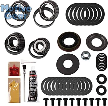 GM 8.5 Rear and Non IFS Front Motive Gear R10RMK Master Bearing Kit with Koyo Bearings