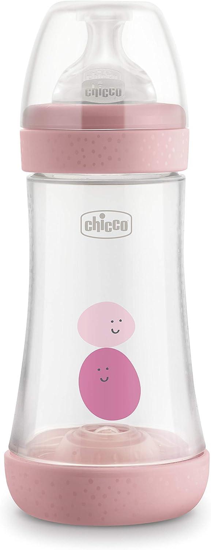 Biberon Chicco Perfect 5 Flusso Veloce 300 ml Beige