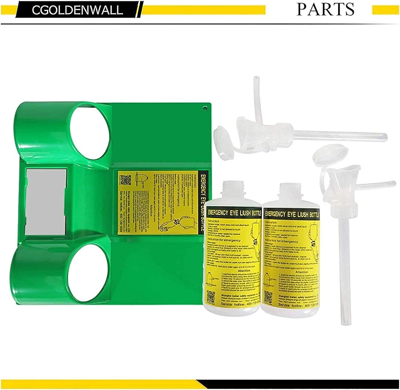 Lavadora portátil de la piel de los ojos Laboratorio Lavaojos de lavado de cara doble Ducha botella plástica vacía resistente a productos químicos tales como ácidos y álcalis 1120