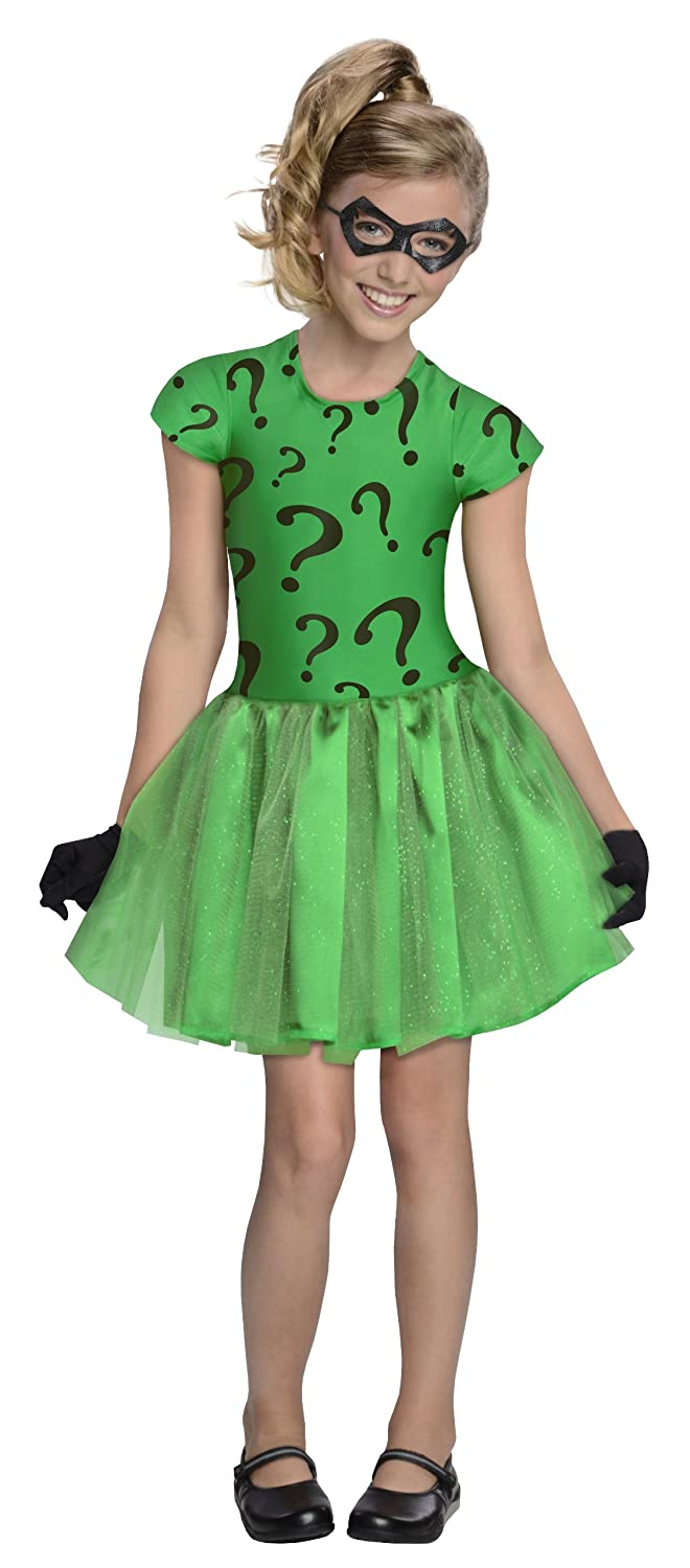 DC Super Villain Riddler Costume with Tutu Dress
