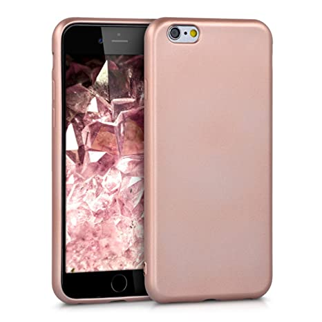 kwmobile cover per apple iphone 6 / 6s custodia in silicone tpu