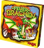 HABA Fire Dragons - An Explosive Collecting Competition Family Board Game for Ages 5 and Up