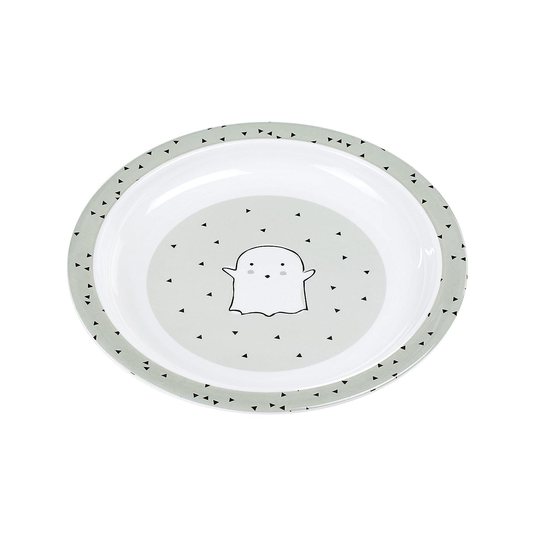 Plate Little Spooky L/ÄSSIG Kinder Teller Melamin Junge und M/ädchen