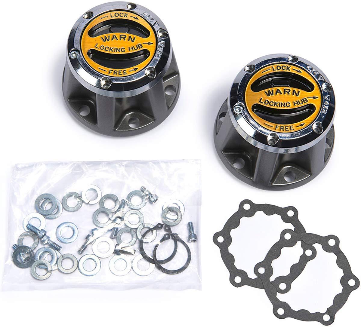 Warn 9062 Premium Manual Locking Hubs-27 Spline by WARN