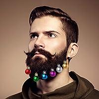 Kesote 24 Bolas de Navidad para Barba Bolas
