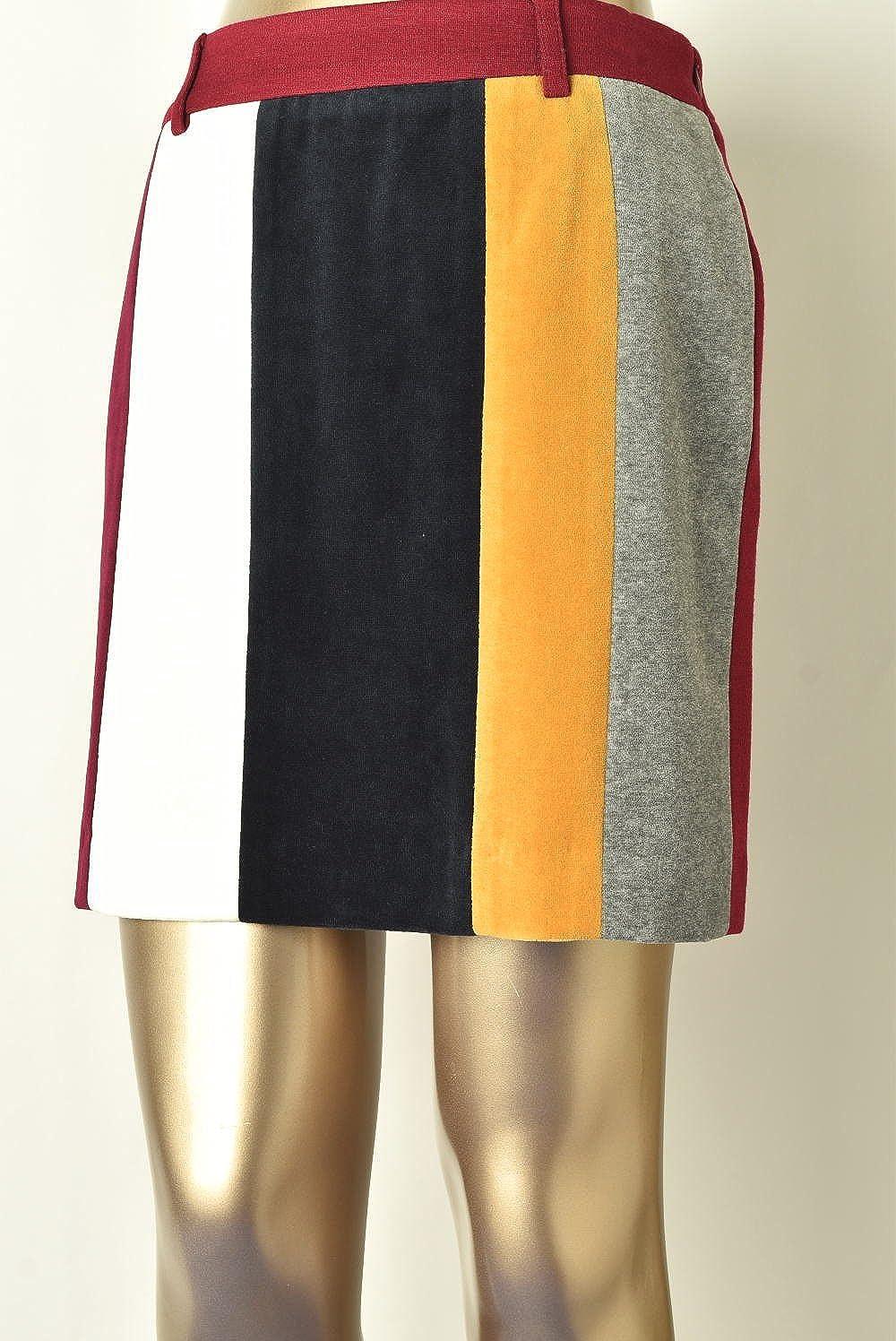(アルチビオ) archivio 異素材使いスカート レディース ゴルフ a716818 40 ワインレッド(121) B07DGD3WCW