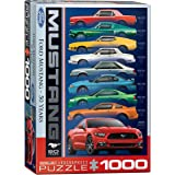 Eurographics Puzzle 1000 Pc - Ford Mustang 50th Anniversary (9 Types)